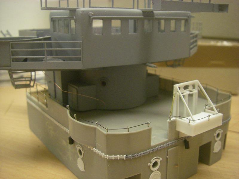 Bau der Bismarck in 1:100  - Seite 5 Imgp8917