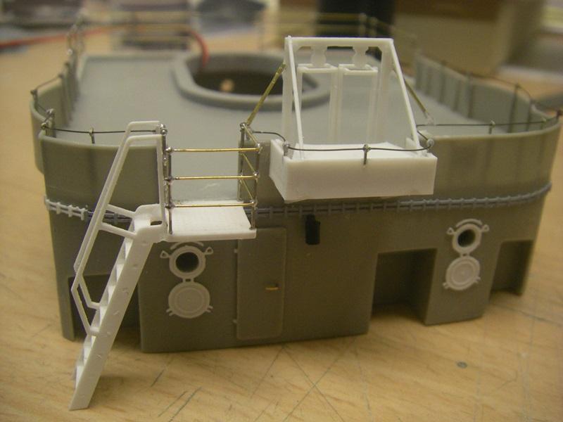 Bau der Bismarck in 1:100  - Seite 5 Imgp8922