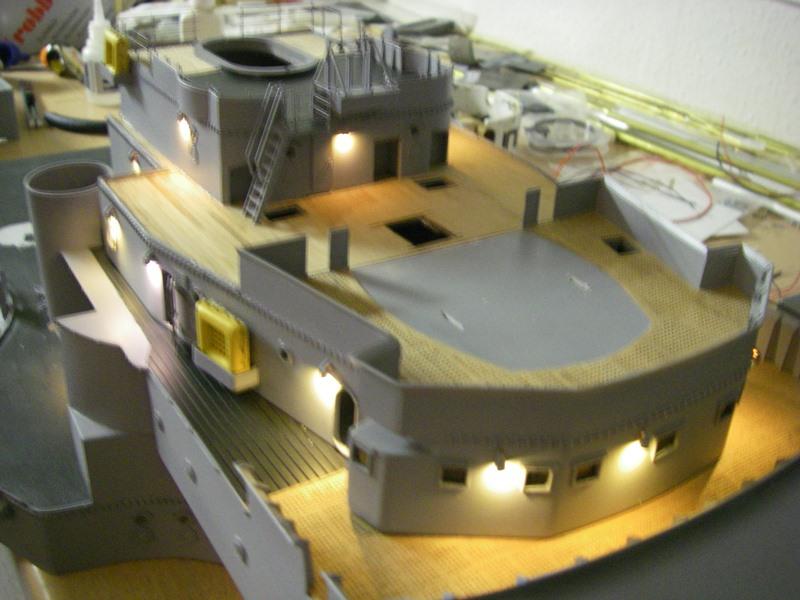 Bau der Bismarck in 1:100  - Seite 5 Imgp8951