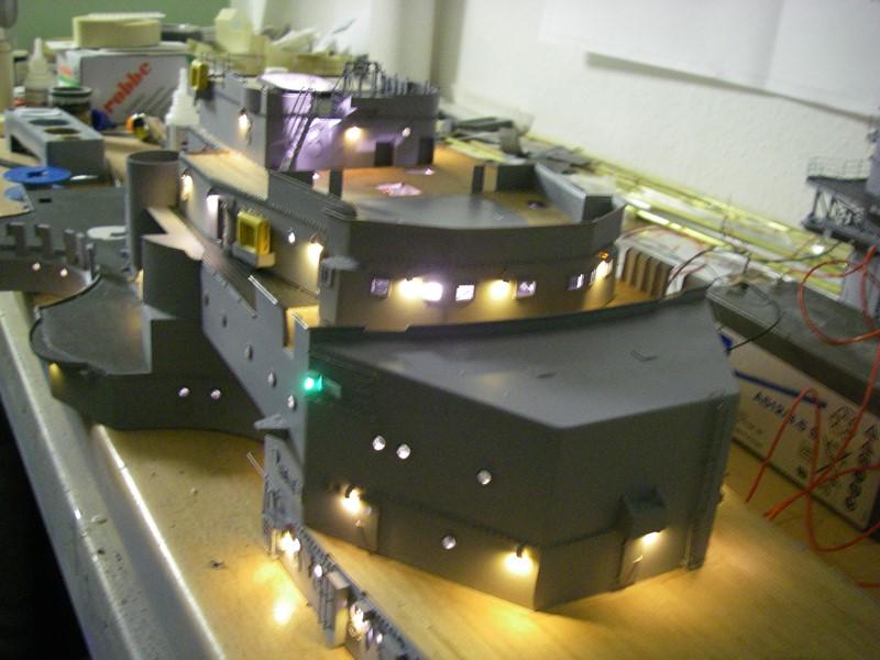 Bau der Bismarck in 1:100  - Seite 5 Imgp8954