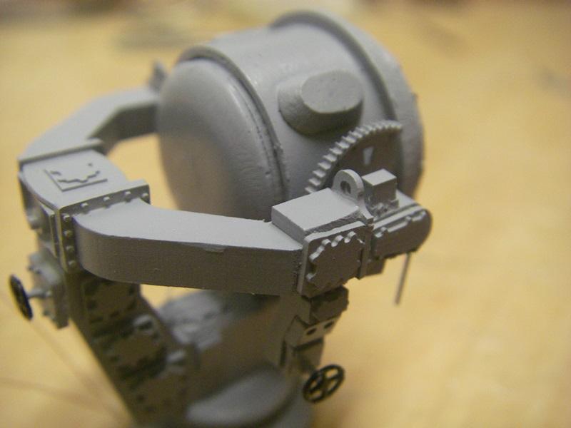 Bismarck 1:100 nur die Aufbauten  - Seite 6 Imgp9117
