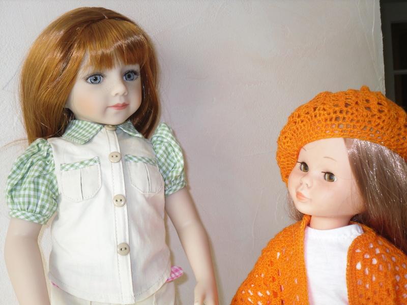 Irmine (Savannah) et Apolline (PR) toute de rouge vêtues.. p6 Sdc13229