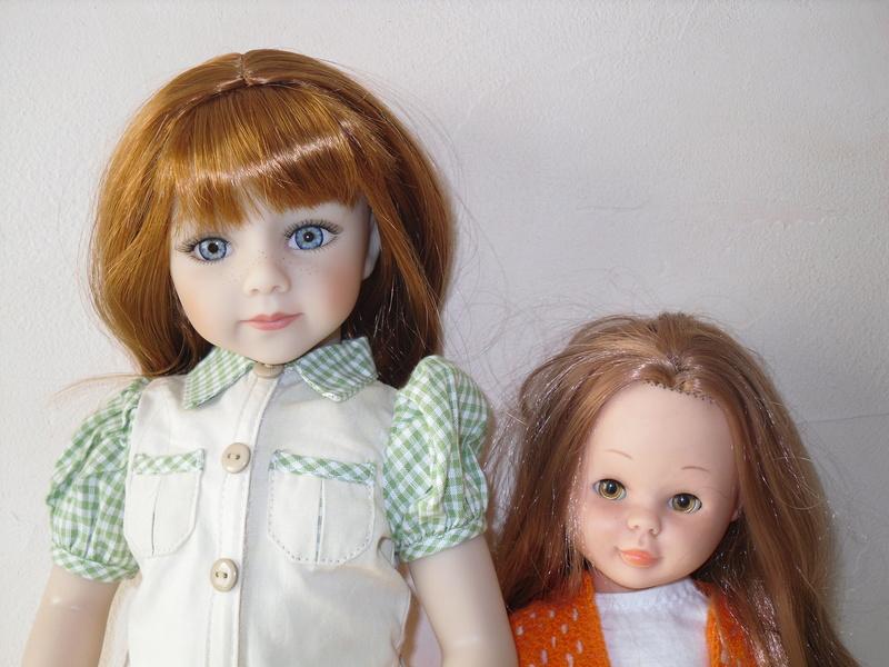 Irmine (Savannah) et Apolline (PR) toute de rouge vêtues.. p6 Sdc13233