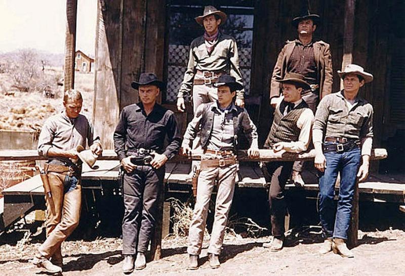 Les 7 mercenaires . The Magnificent Seven . 1960 . John Sturges  Les-se10