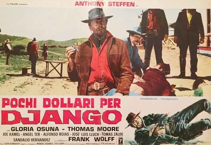 Quelques Dollars pour Django - Pochi dollari per Django  - 1966 - Leon Klimosky - Page 2 S-l16010