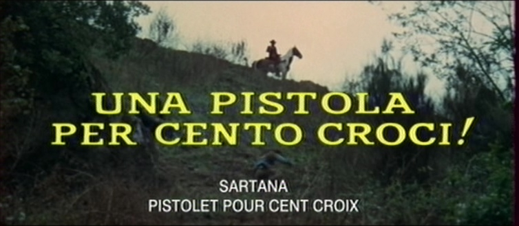 Sartana, pistolet pour 100 croix - Una pistola per cento croci - 1971 - Carlo Croccolo - Page 2 Vlcsna10