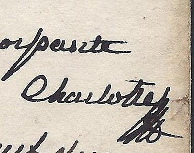 La reine Marie-Caroline de Naples - Page 4 Signat10