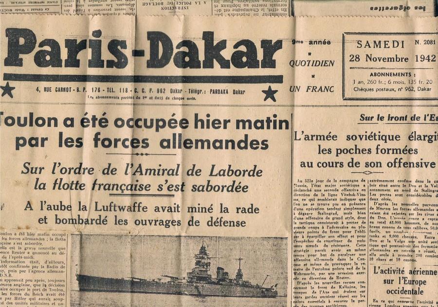 [Histoire et histoires] Toulon : Sabordage de la Flotte (photos) - Page 4 010