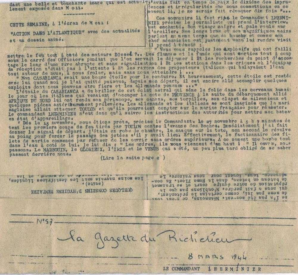 [Les batiments de ligne] RICHELIEU ET JEAN BART - TOME 2 - Page 36 317