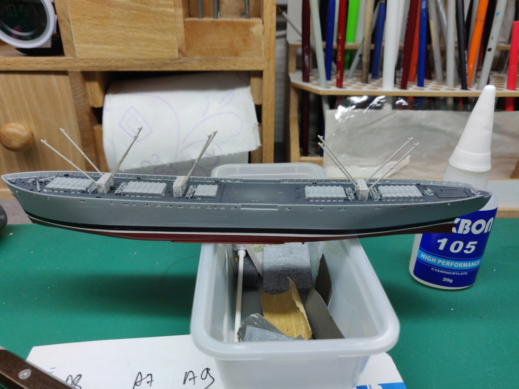 LIBERTY SHIP Jeremiah O'Brien 1/700 TRUMPETER Img_2012