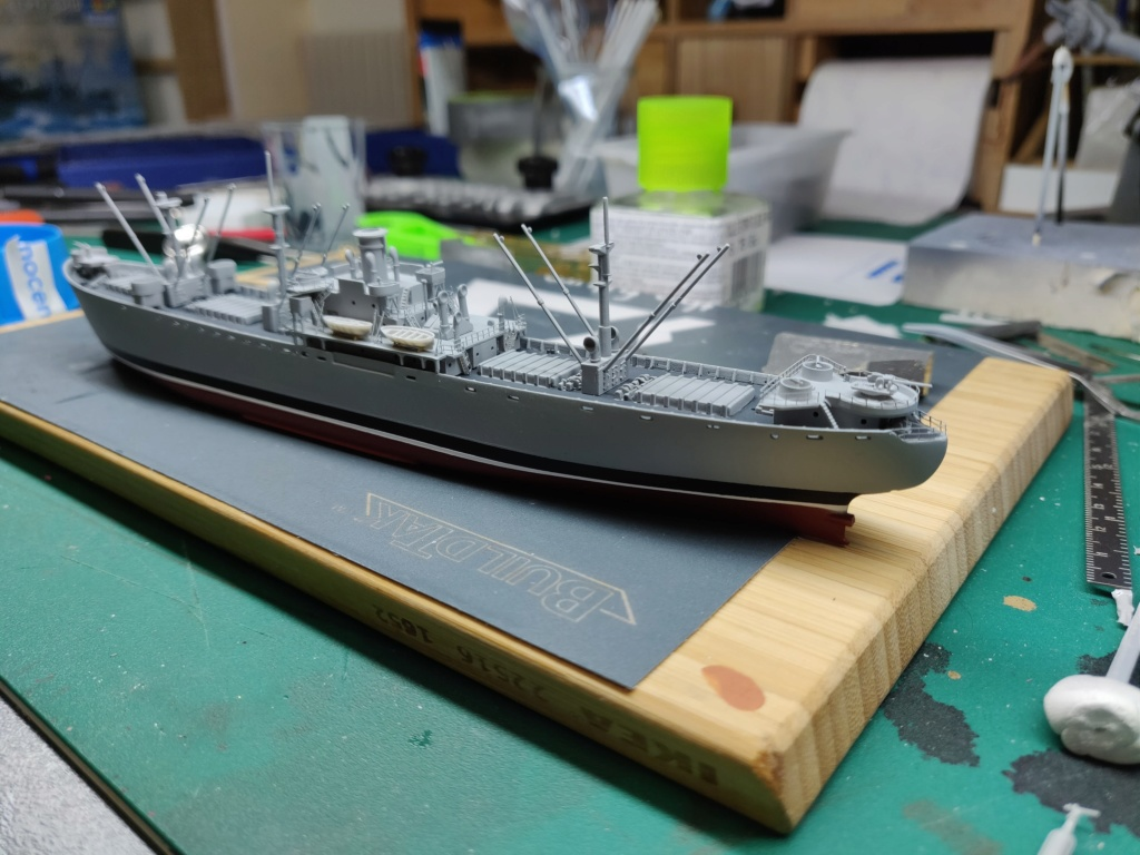 LIBERTY SHIP Jeremiah O'Brien 1/700 TRUMPETER Img_2018