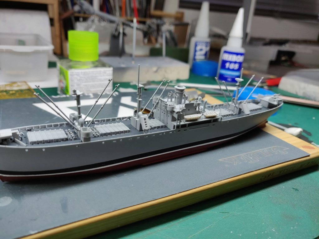LIBERTY SHIP Jeremiah O'Brien 1/700 TRUMPETER Img_2019