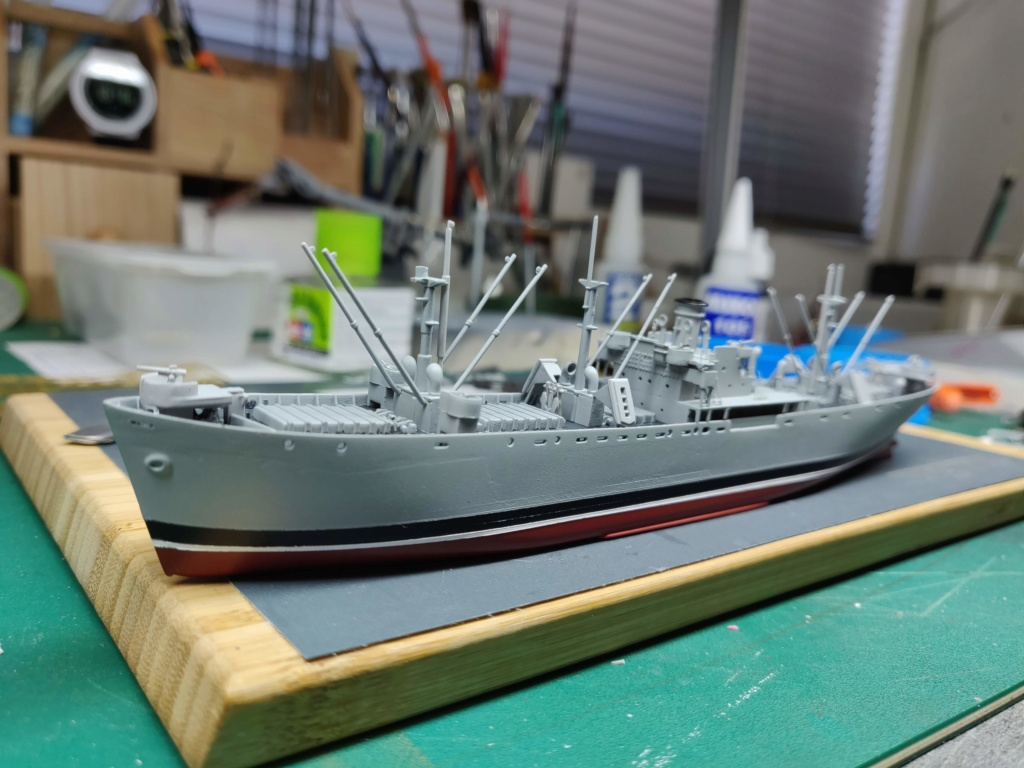 LIBERTY SHIP Jeremiah O'Brien 1/700 TRUMPETER Img_2022
