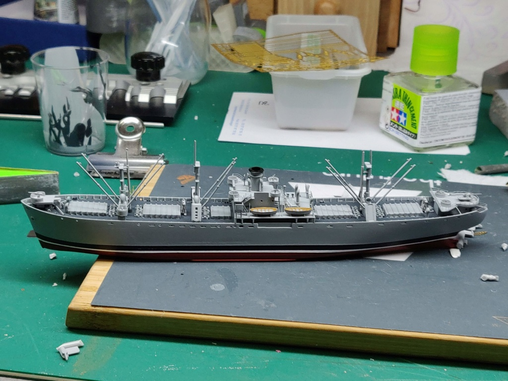 LIBERTY SHIP Jeremiah O'Brien 1/700 TRUMPETER Img_2023
