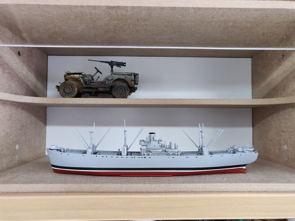 LIBERTY SHIP Jeremiah O'Brien 1/700 TRUMPETER Img_2025