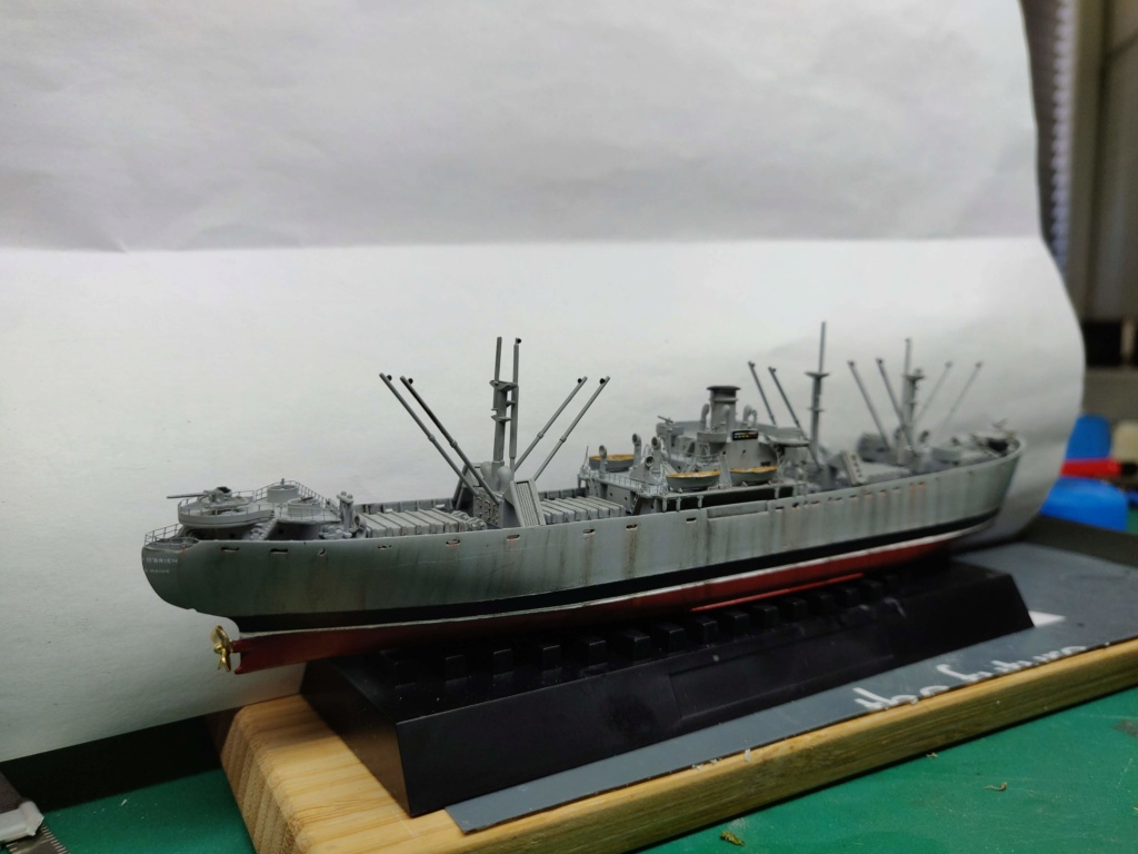 LIBERTY SHIP Jeremiah O'Brien 1/700 TRUMPETER Img_2029