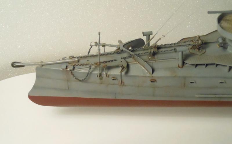 Aviso torpilleur 1905 en Scratch intégral au 1/100ème - Page 13 35711