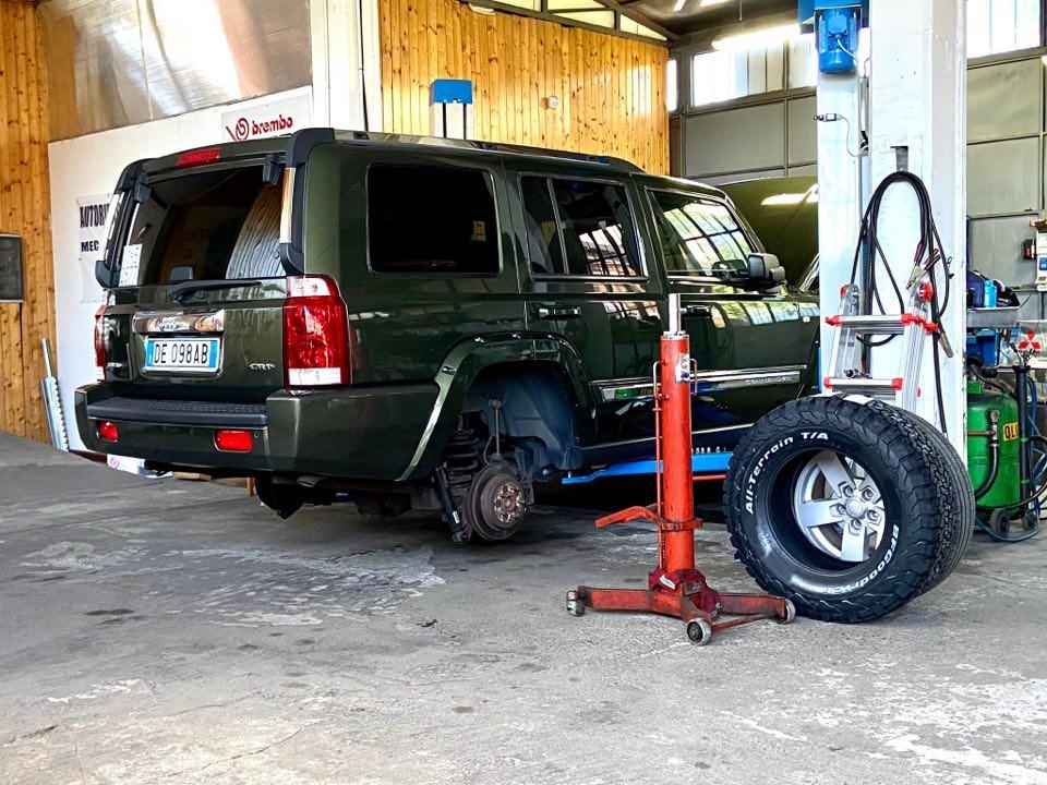 """Vi presento la mia """"nuova"""" Jeep...C O M M A N D E R: inizia il work in progress!  - Pagina 2 10337110"""