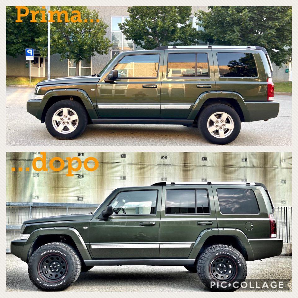 """Vi presento la mia """"nuova"""" Jeep...C O M M A N D E R: inizia il work in progress!  - Pagina 4 11672110"""