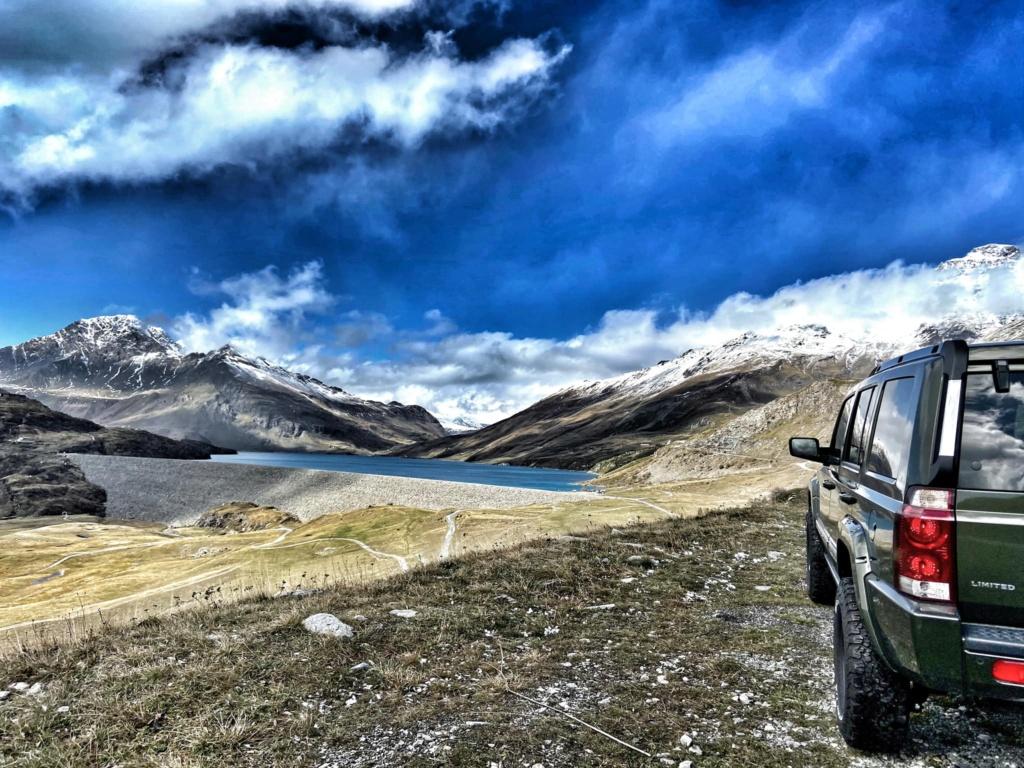 Jeep XK al Lago del Moncenisio  12076610