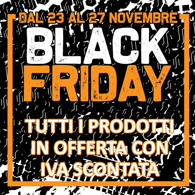 Dal 23 al 27 novembre è BLACK FRIDAY by 4Technique!  12603310