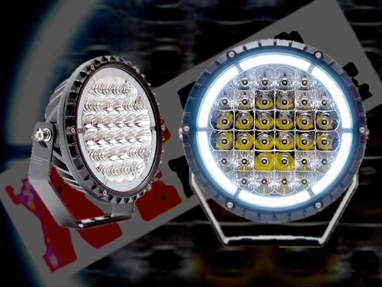 Nuovo faro LED XT AUTOMOTIVE ECE R112 con omologazione per uso stradale Faro-l10