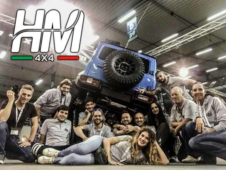 ANTEPRIMA per WM: L'esperienza di HM4x4 da oggi è al servizio dello storico brand americano Jeep Hm-4x410