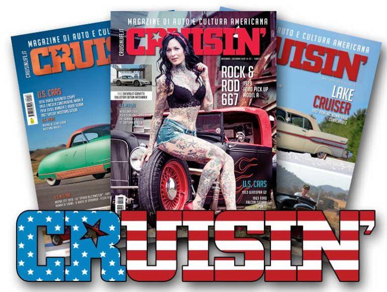 Nuova partnership tra WranglerMania e la rivista di cultura americana CRUISIN' Partne10
