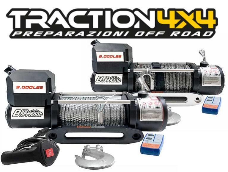 Da Traction 4×4 i nuovi verricelli B52 Offroad al prezzo più basso d'Europa! Tracti11