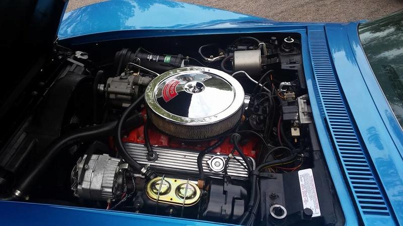 Corvette coupé 69 Moteur11