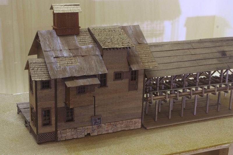 Gebäude für zukünftiges Diorama Yyk10