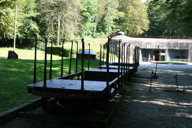 Festung Schoenenbourg. An der Maginot -Linie.  1110
