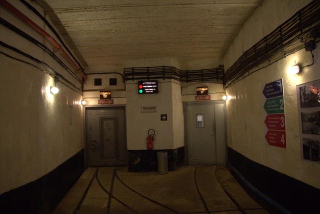 Festung Schoenenbourg. An der Maginot -Linie.  213