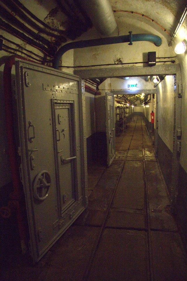 Festung Schoenenbourg. An der Maginot -Linie.  22a10