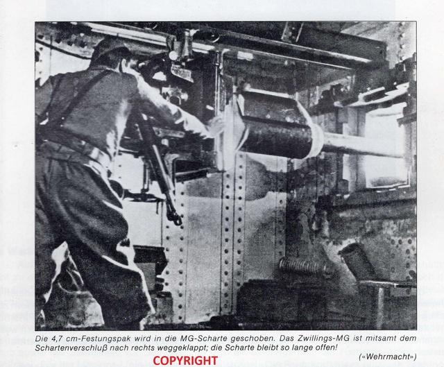 Festung Schoenenbourg. An der Maginot -Linie.  - Seite 2 3b10