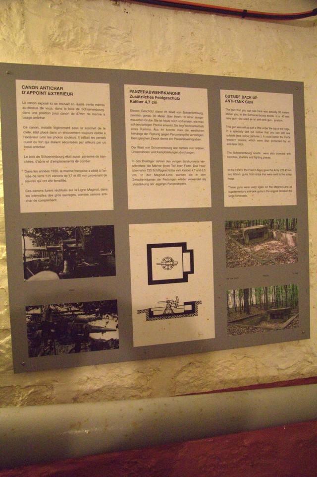 Festung Schoenenbourg. An der Maginot -Linie.  - Seite 2 6b10