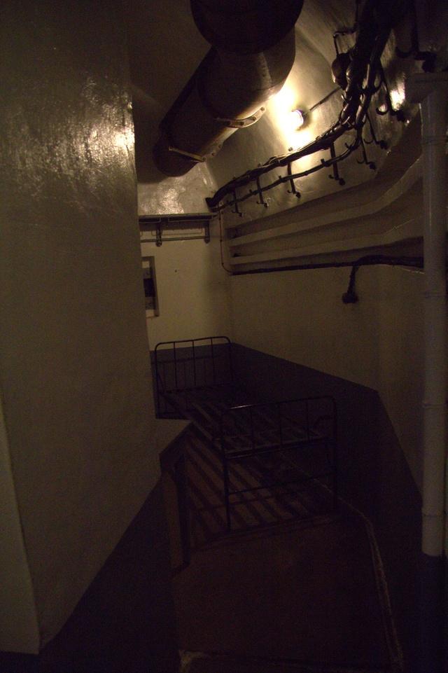 Festung Schoenenbourg. An der Maginot -Linie.  9a10