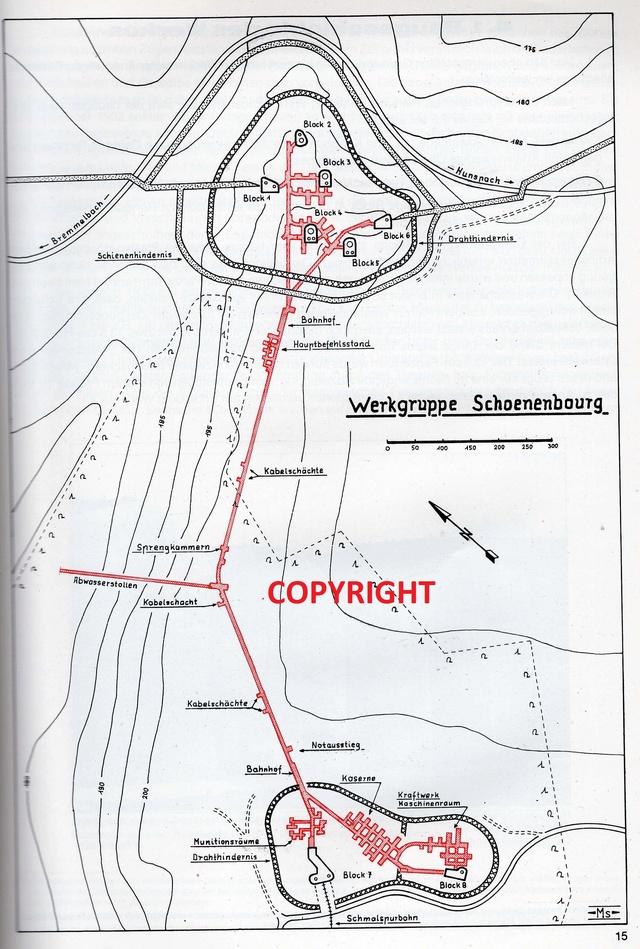 Festung Schoenenbourg. An der Maginot -Linie.  Img34213