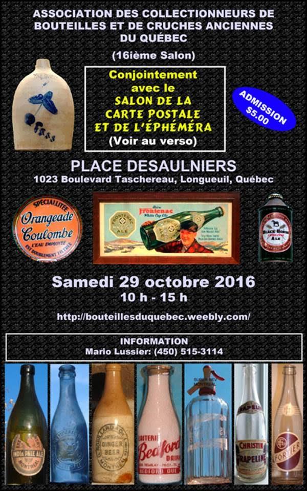 Prochain 'show' de bouteilles à Longueuil - Samedi le 29 octobre 2016 110