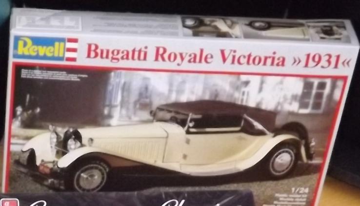 Bugatti Royal Victoria 1931 de Revell 1/24 Dscf5512