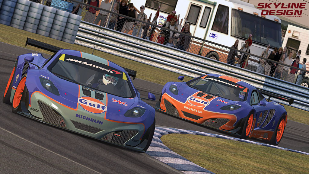 AMS GT3 WORLD CHAMPIONSHIP - RELEASED Gulf10