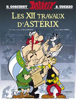 Les 12 travaux d'Astérix - Réédition 19 octobre 2016 Couvfr10