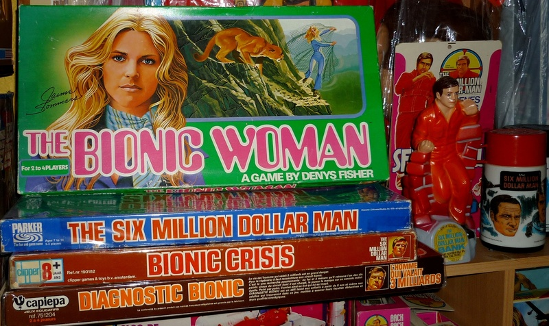 collection bionic man P1620910