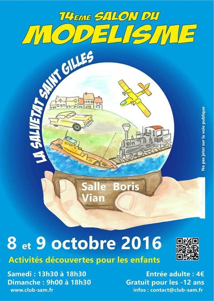 Salon du modelisme de la Salvetat Saint Gilles / 8 et 9 octobre 2016 14232510