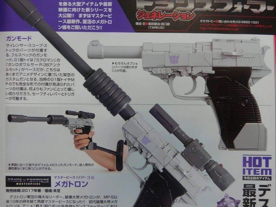 Masterpiece MP-36 Megatron v2 Master12