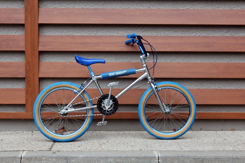 BMX TCX 2000 chromé Bmx310