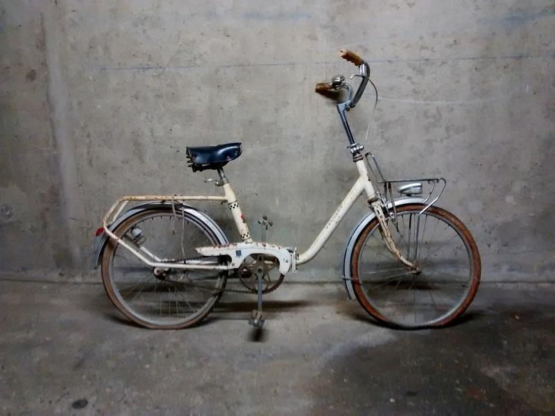 Mini Peugeot D40, transformation en vélo de jardin Img_2031