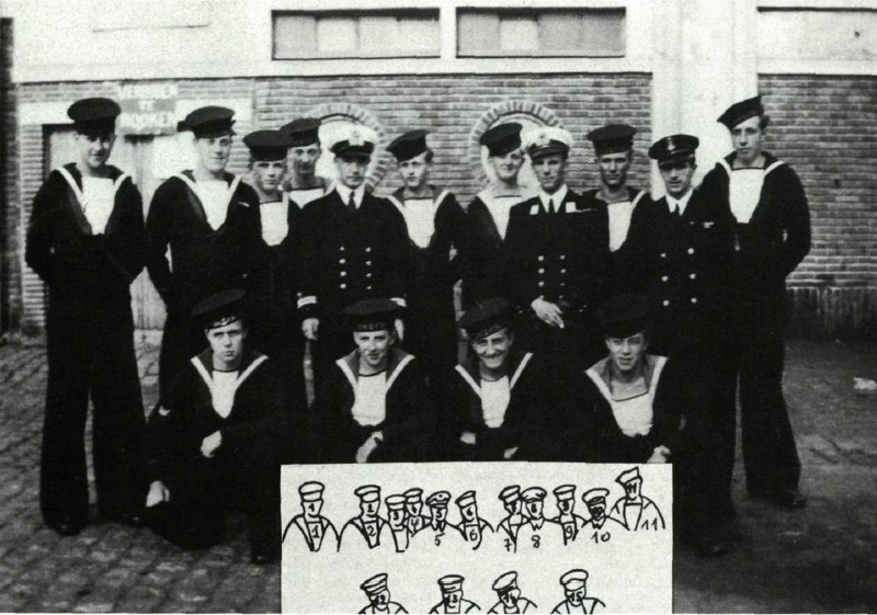 Deux grands anciens de la Royal Navy Section Belge Meunie10