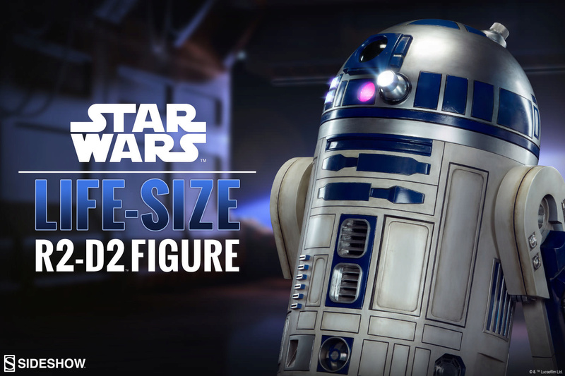 Sideshow : R2D2 Life Size R110