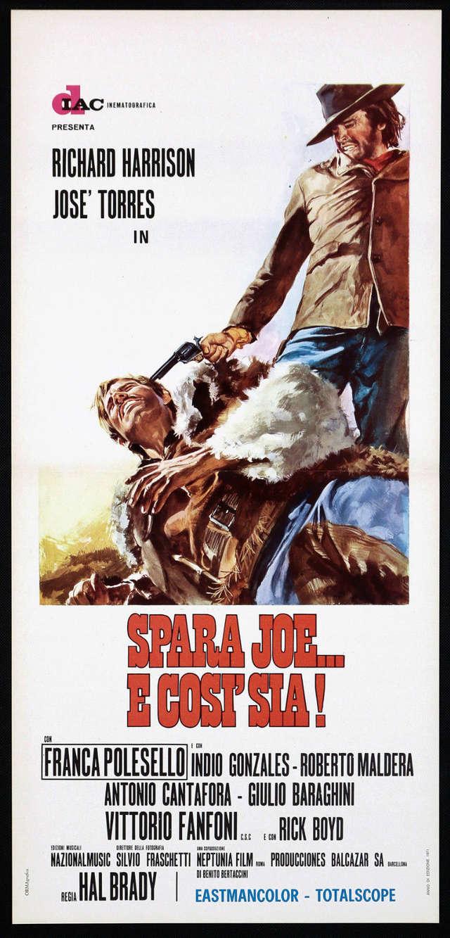 Tire Joe et amen (Spara Joe... e così sia!-Joe Dakota, 1971) Hal Brady (Emilio Miraglia) Spara-14